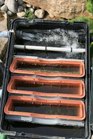 how to make a pond filter box