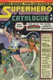Superhero Catalogue Comic Book - Ivan Snyder - from Sort It Apps