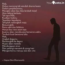 best untukanakku quotes status shayari poetry thoughts
