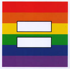 Rainbow Equal Sign Small Bumper Sticker Decal Or Magnet Peace Resource Project