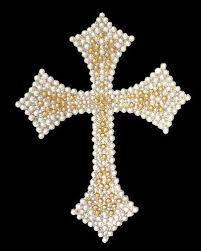 Sell Crystal Bling Car Decal Silver And Gold Cross New Motorcycle In Hampstead North Carolina Us For Us 14 99