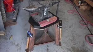 the ultimate anvil stand diy you
