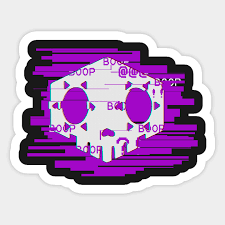 Sombra Overwatch Sticker Teepublic