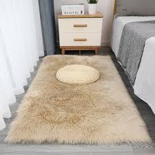 Faux Fur Rug Soft Fluffy Rug Shaggy Rugs Faux Luxury Sheepskin Etsy