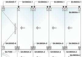 sa8900a 1 china hanger for glass door