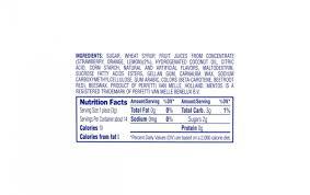 mentos chewy mint fruit 1 32 oz 15 count
