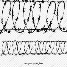 Barbed Wire Vector Barbed Wire Fence Vector Barbed Vector Png Transparent Clipart Image And Psd File For Free Download