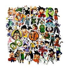 100 Pcs Pack Mixed Dragon Ball Anime Sticker For Car Laptop Skateboard Pad Bicycle Motorcycle Ps4 Phone Decal Pvc Stickers Aliexpress Com Imall Com