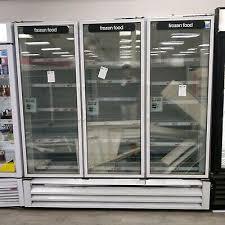 72cf commercial 3 door glass door