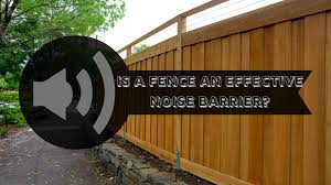 Is A Fence An Effective Noise Barrier