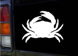 Crab Vinyl Sticker Decal For Car Truck Yeti And More Etsy
