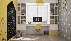 Yellow Kids Study Room 1 Awesome Decors