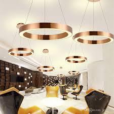 rose gold restaurant led pendant lights