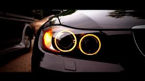 car wallpapers black bmw headlight
