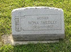 Nona Smith Smedley (1903-1937) - Find A Grave Memorial