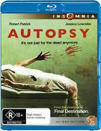 Autopsy NEW Cult Blu-Ray Disc Adam Gierasch Jessica Lowndes Robert ...
