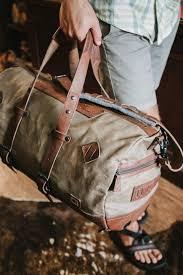 dakota waxed canvas duffle bag backpack