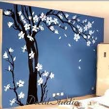Large Blossom Tree Vinyl Wall Decal Living Room Art Decalstudio On Artfire