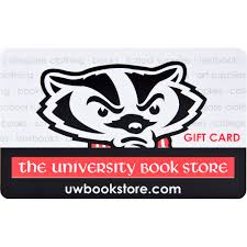 the university book gift card
