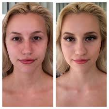 models before and after makeup