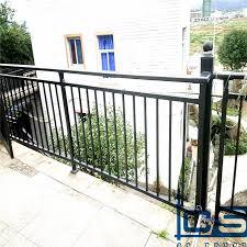 China Cheap Wrought Iron Balcony Fence Designs China Railing Balcony
