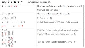 factoring quadratic equations