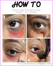hide dark circles under eyes