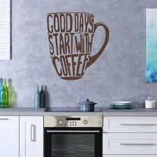 Kitchen Coffee Wall Decals Wayfair