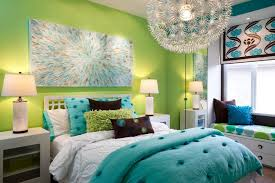 combination of the green color in the