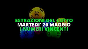 Estrazioni del Lotto di martedì 26 maggio 2020: i numeri vincenti