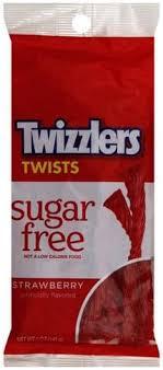 twizzlers strawberry sugar free twists