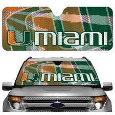 Miami Hurricanes Auto Shade