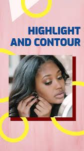 makeup artist insram story template
