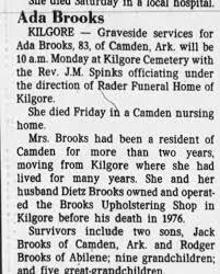 Obituary for Ada Brooks (Aged 83) - Newspapers.com