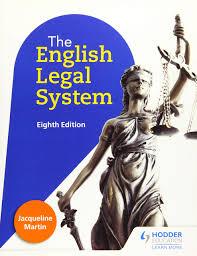 English Legal System: Martin, Jacqueline: 9781471879159: Amazon ...