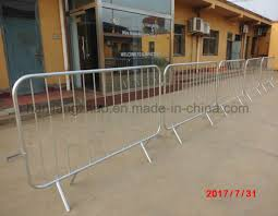 China Outdoor Used Steel Concert Crowd Control Barricade For Sale Xmr157 China Steel Fence Portable Fence
