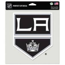 Los Angeles La Kings Vinyl Die Cut Decal 8 X8 Perfect For Windows Ebay