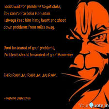i dont wait for problems quotes writings by rishabh