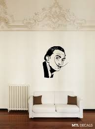 Dali Wall Decal Salvador Dali Wall Sticker Home Decor 36 X 43 77 Mtl Decals