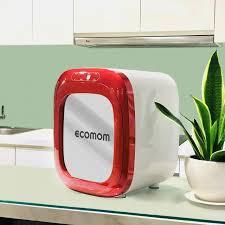 Máy tiệt trùng sấy khô khử mùi bằng tia UV Ecomom ECO-100 Pro - Màu Đỏ   Máy  Tiệt Trùng Ecomom