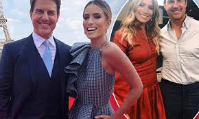 Renee Bargh on rumours she dated Tom Cruise, and confirms his ...