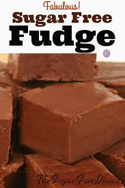 FABULOUS Sugar Free Fudge- this is such a simple recipe to make for a yummy  chocolate fudge! #sugarfree #f… (With images) | Sugar free fudge, Sugar  free sweets, Sugar free treats