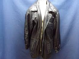 pelle studio wilsons black leather