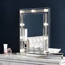 diamond glitz dressing table mirror
