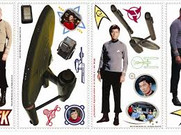 Star Trek Enterprise Wall Sticker Eaglemoss Decals Aztec Auto Design Laptop Vinyl Vamosrayos