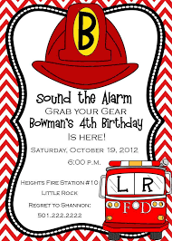 Fireman Birthday Invitation Digital 14 50 Via Etsy
