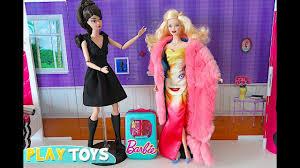 barbie dolls glam dresakeup