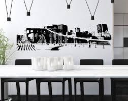 Amazon Com Ny New York City Kids Room Children Stylish Wall Art Sticker Decal G8157 Kitchen Dining