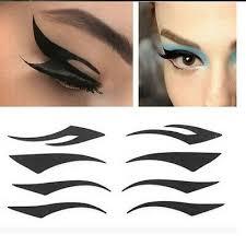 4 pairs temporary rock eye tattoo