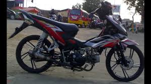 50 modifikasi motor drag honda blade